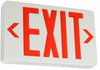 Red LED Exit Sign