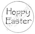 A7952 Hoppy Easter In Circle