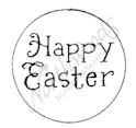 A7957 Happy Easter In Circle