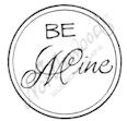 A8401 Circle Mixed Font Be Mine