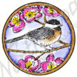 A8415 Circle Chickadee