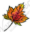 A8692 Tiny Sugar Maple Leaf