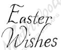 A9067 Informal Easter Wishes