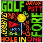 B10050 Silhouette Golf Sayings