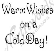 B10359 Stylish Warm Wishes On A Cold Day!