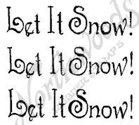 B10382 Stylish Let It Snow