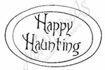 B8164 Happy Haunting In Oval