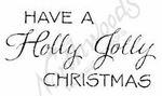 B8260 Mixed Font Have A Holly Jolly