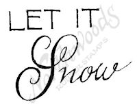 B8359 Mixed Font Let It Snow