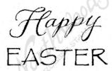 B8482 Mixed Font Happy Easter