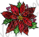 B8815 Small Poinsettia