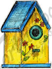 B9489 Single Birdhouse