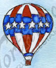 B9569 Starry Hot Air Balloon