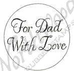 B9806 Circle For Dad With Love