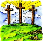 B9947 Three Crosses
