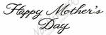 BB10025 Script Happy Mother's Day