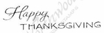 BB8217 Mixed Font Happy Thanksgiving