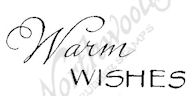 BB8371 Mixed Font Warm Wishes