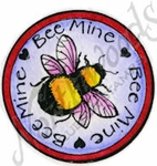 CC9387 Bee Mine Circle With Bee