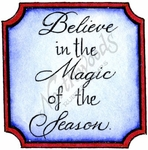 C10132 Mixed Font Believe In The Magic In Square