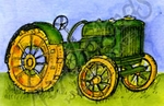 C10262 Small Tractor