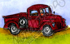 C10268 Small Vintage Truck