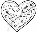 C3936 Dove In Heart