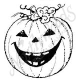 C4731 Grinning Jack-O-Lantern - Large