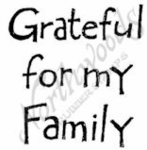 C7122 Simple Grateful For My Family