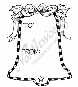 C7722 Bell Gift Tag