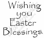 C7964 Classic Wishing You Easter Blessings