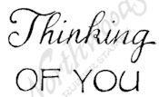 C8527 Mixed Font Thinking Of You