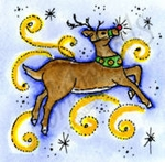 C8754 Reindeer And Stars