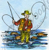 C9536 Fly Fisherman