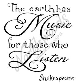 CC10205 Mixed Font The Earth Has Music
