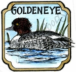 CC10210 Goldeneye In Curved Square