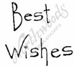 CC4378 Tall Simple Best Wishes