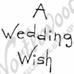 CC4391 Tall Simple A Wedding Wish