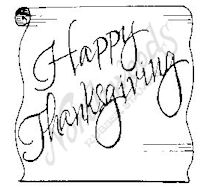 CC4766 Happy Thanksgiving Letter