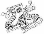 CC4851 Ice Skates-Small