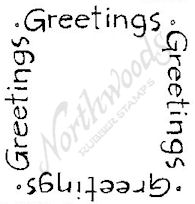 CC4932 Greetings Square
