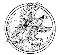 CC4959 Flying Pheasant Circle