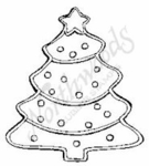 CC6341 Christmas Tree Cookie