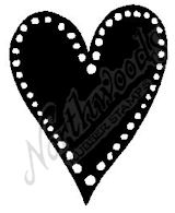 CC6447 Medium Dotted Solid Heart