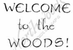 CC7400 Wispy Welcome To The Woods