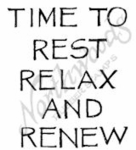 CC7444 Capital Time To Rest Relax