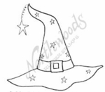 CC7540 Starry Witch's Hat