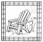 CC7910 Adirondack Chair In Frame