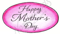 CC8529 Royal Happy Mother's Day Oval