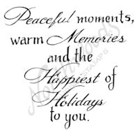 CC9364 Mixed Font Peaceful Moments